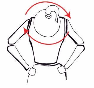 Упражнение на растяжку мышц талии